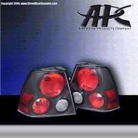 Headlights & Tail Lights - Tail Lights - APC - APC Euro Taillights with Carbon Fiber Housing - 404591TLCF