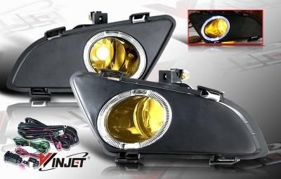 Headlights & Tail Lights - Fog Lights - WinJet - Mazda 6 WinJet OEM Fog Light - Yellow - Wiring Kit Included - WJ30-0093-12