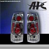 Headlights & Tail Lights - Tail Lights - APC - APC 3D Retro Chrome Taillights - 404710TLR