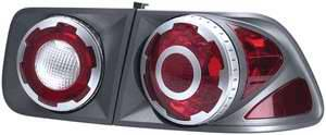 Headlights & Tail Lights - Tail Lights - APC - APC 3D Retro Titanium Taillights - 404752TLT