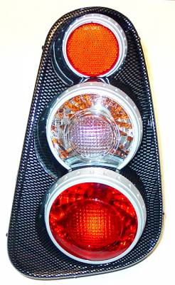 Headlights & Tail Lights - Tail Lights - APC - Euro Lights Carbon Fiber - 404818TLCF
