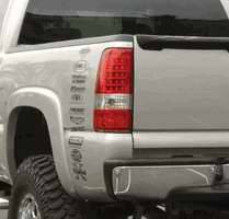 Headlights & Tail Lights - Led Tail Lights - APC - APC LED Taillights - 404919TLR