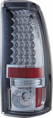 Headlights & Tail Lights - Led Tail Lights - APC - GMC Sierra APC LED Taillights with Clear Lens - 406623TL