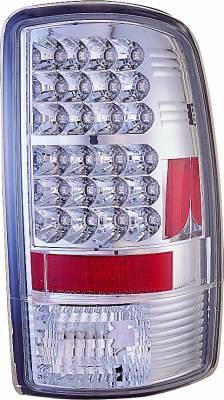 Headlights & Tail Lights - Led Tail Lights - APC - GMC Yukon APC LED Taillights with Clear Lens - 406629TL