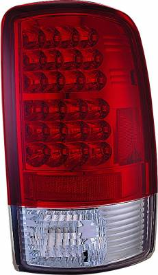 Headlights & Tail Lights - Led Tail Lights - APC - GMC Yukon APC LED Taillights with Red & Clear Lens - 406629TLR