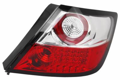 Headlights & Tail Lights - Led Tail Lights - APC - Scion tC APC LED Taillights with Red & Clear Lens - 406721TLR
