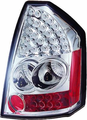 Headlights & Tail Lights - Led Tail Lights - APC - Chrysler 300 APC LED Taillights with Clear Lens - 406811TL