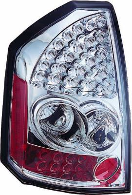 Headlights & Tail Lights - Led Tail Lights - APC - Chrysler 300 APC LED Taillights with Clear Lens - 406815TL