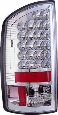Headlights & Tail Lights - Led Tail Lights - APC - Dodge Ram APC LED Taillights with Clear Lens - 406816TL