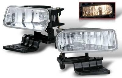 Headlights & Tail Lights - Fog Lights - WinJet - Chevrolet Silverado WinJet OEM Fog Light - Clear - WJ30-0125-09