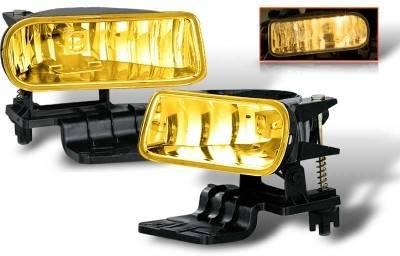 Headlights & Tail Lights - Fog Lights - WinJet - Chevrolet Silverado WinJet OEM Fog Light - Yellow - WJ30-0125-12
