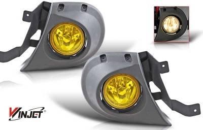 Headlights & Tail Lights - Fog Lights - WinJet - Honda Pilot WinJet OEM Fog Light - Yellow - Wiring Kit Included - WJ30-0132-12