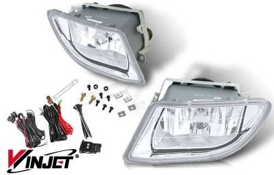 Headlights & Tail Lights - Fog Lights - WinJet - Honda Odyssey WinJet OEM Fog Light - Clear - Wiring Kit Included - WJ30-0134-09