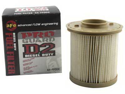 Performance Parts - Fuel System - aFe - Dodge Ram aFe ProGuard D2 Fuel Filter - 44-FF004