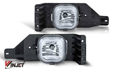 Headlights & Tail Lights - Fog Lights - WinJet - Ford F250 WinJet OEM Fog Light - Clear - WJ30-0151-09