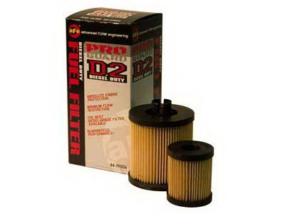 Performance Parts - Fuel System - aFe - Ford F350 aFe ProGuard D2 Fuel Filter - 44-FF006