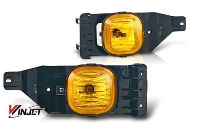 Headlights & Tail Lights - Fog Lights - WinJet - Ford F250 WinJet OEM Fog Light - Yellow - WJ30-0151-12