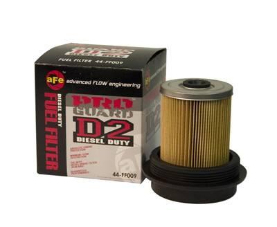 Performance Parts - Fuel System - aFe - Ford F250 aFe ProGuard D2 Fuel Filter - 44-FF009