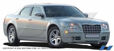 Magnum - Mirrors - SES Trim - Dodge Magnum SES Trim ABS Chrome Mirror Cover - MC111
