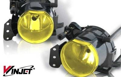 WinJet - BMW X5 WinJet OEM Fog Light - Yellow - WJ30-0161-12