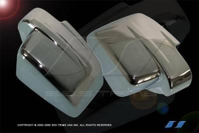 Nitro - Mirrors - SES Trim - Dodge Nitro SES Trim ABS Chrome Mirror Cover - MC119F