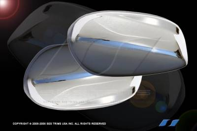 Accord Wagon - Mirrors - SES Trim - Honda Accord SES Trim ABS Chrome Mirror Cover - MC125