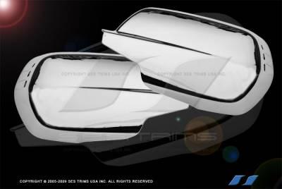 CRV - Mirrors - SES Trim - Honda CRV SES Trim ABS Chrome Mirror Cover - MC130