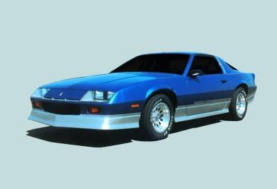 Camaro - Front Bumper - Xenon - Chevrolet Camaro Xenon Air Dam - 5100