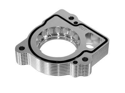 Performance Parts - Throttle Body Spacers - aFe - Dodge Durango aFe Silver Bullet Throttle Body Spacer - 46-32003