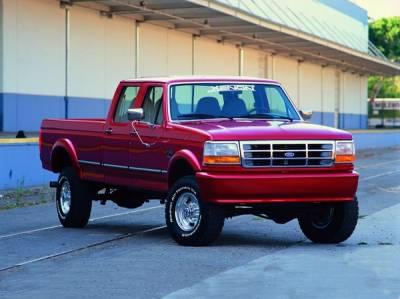 F250 - Front Bumper - Xenon - Ford F250 Xenon Bumper Cover - 5371