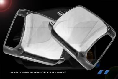 Tundra - Mirrors - SES Trim - Toyota Tundra SES Trim ABS Chrome Full Mirror Cover with Turn Signal - MC178