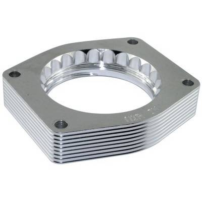 Performance Parts - Throttle Body Spacers - aFe - Chevrolet Silverado aFe Silver Bullet Throttle Body Spacer - 46-34003