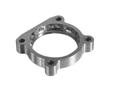 Performance Parts - Throttle Body Spacers - aFe - Nissan Titan aFe Silver Bullet Throttle Body Spacer - 46-36001