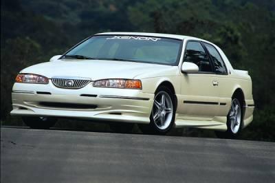 Cougar - Front Bumper - Xenon - Mercury Cougar Xenon Air Dam - Urethane - 5701