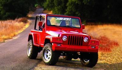 Wrangler - Front Bumper - Xenon - Jeep Wrangler Xenon Front Bumper Cover - 8305