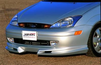 Focus 4Dr - Front Bumper - Xenon - Ford Focus Xenon Front Air Dam - 10071