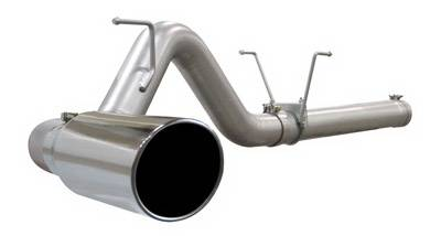 Exhaust - Custom Fit Exhaust - aFe - Dodge Ram aFe MachForce XP DPF-Back Exhaust System 409 SS - 49-42006