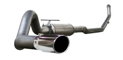 Exhaust - Custom Fit Exhaust - aFe - Ford F350 aFe MachForce XP Turbo-Back Exhaust System 409 SS - 49-43001