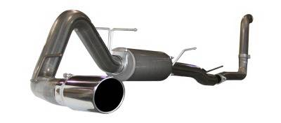 Exhaust - Custom Fit Exhaust - aFe - Ford F350 aFe MachForce XP Turbo-Back Exhaust System 409 SS - 49-43005