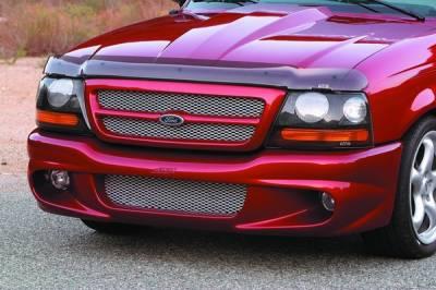 Ranger - Front Bumper - Xenon - Ford Ranger Xenon Front Bumper Cover with Aluminum Mesh - 10581