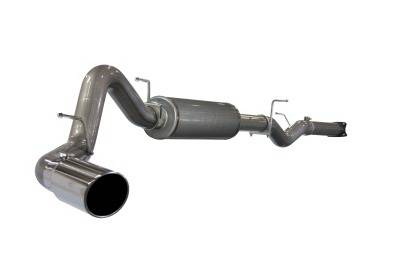 Exhaust - Custom Fit Exhaust - aFe - GMC Sierra aFe MachForce XP Cat-Back Exhaust System 409 SS - 49-44001
