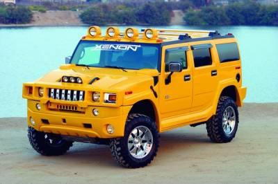 H2 - Front Bumper - Xenon - Hummer H2 Xenon Front Bumper Cover - 11711