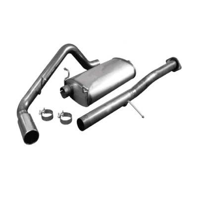Exhaust - Custom Fit Exhaust - aFe - GMC Yukon aFe MachForce XP Cat-Back Exhaust System 409 SS - 49-44009