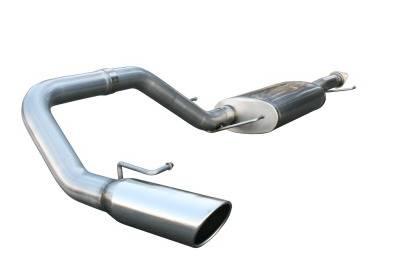 Exhaust - Custom Fit Exhaust - aFe - Toyota FJ Cruiser aFe MachForce XP Cat-Back Exhaust System 409 SS - 49-46003