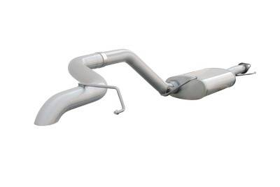 Exhaust - Custom Fit Exhaust - aFe - Toyota FJ Cruiser aFe MachForce XP Cat-Back Exhaust System 409 SS - 49-46005