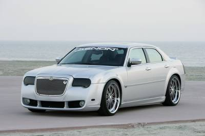 300 - Front Bumper - Xenon - Chrysler 300 Xenon Front Replacement Fascia - 12501