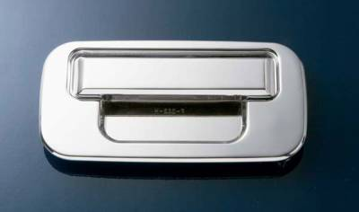 Suv Truck Accessories - Tailgate Accessories - All Sales - All Sales Chrome Billet Tailgate Handle Assembly without Lock - 503C