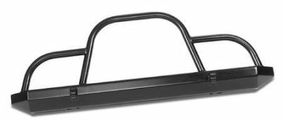 CJ7 - Front Bumper - Warrior - Jeep CJ7 Warrior Rock Crawler with Brush Guard & D-Rings - 57051