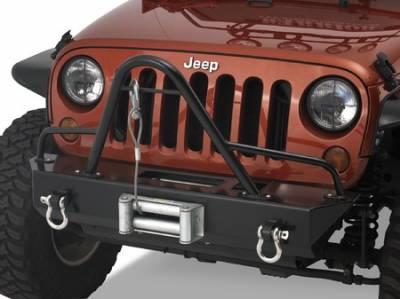Wrangler - Front Bumper - Warrior - Jeep Wrangler Warrior Stinger Brush Guard - 59015