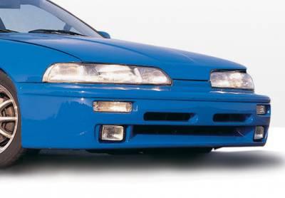 Integra 2Dr - Front Bumper - VIS Racing - Acura Integra 2DR VIS Racing Racing Series Front Lip - Polyurethane - 490060